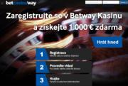 Betway – online casino se 100% bonusem