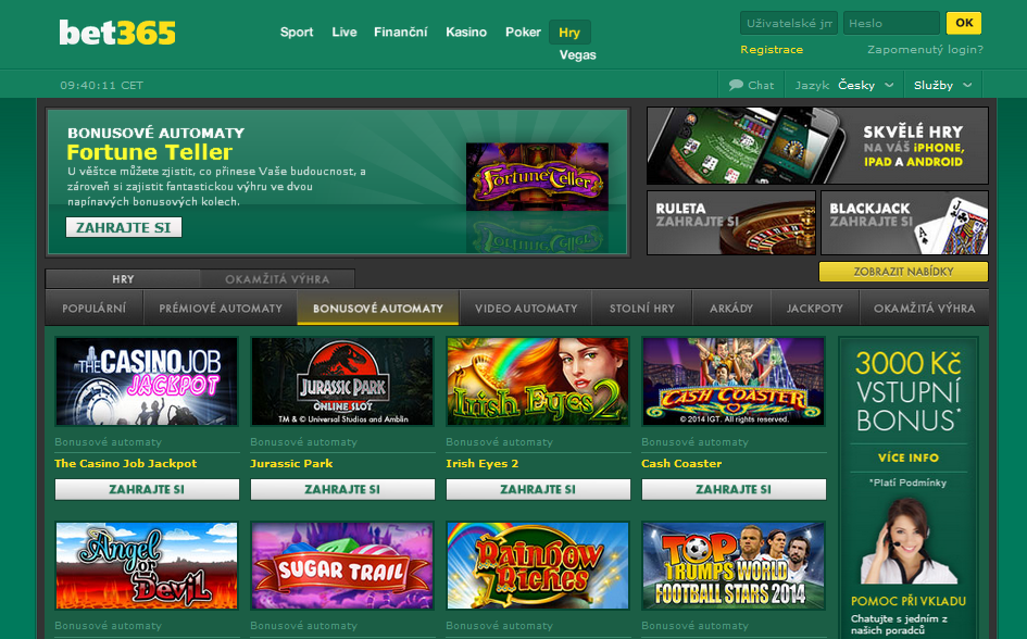bet365 bonus casino