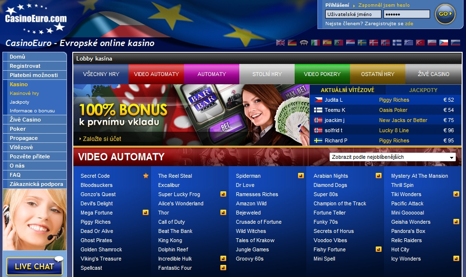 www.casinoeuro.com