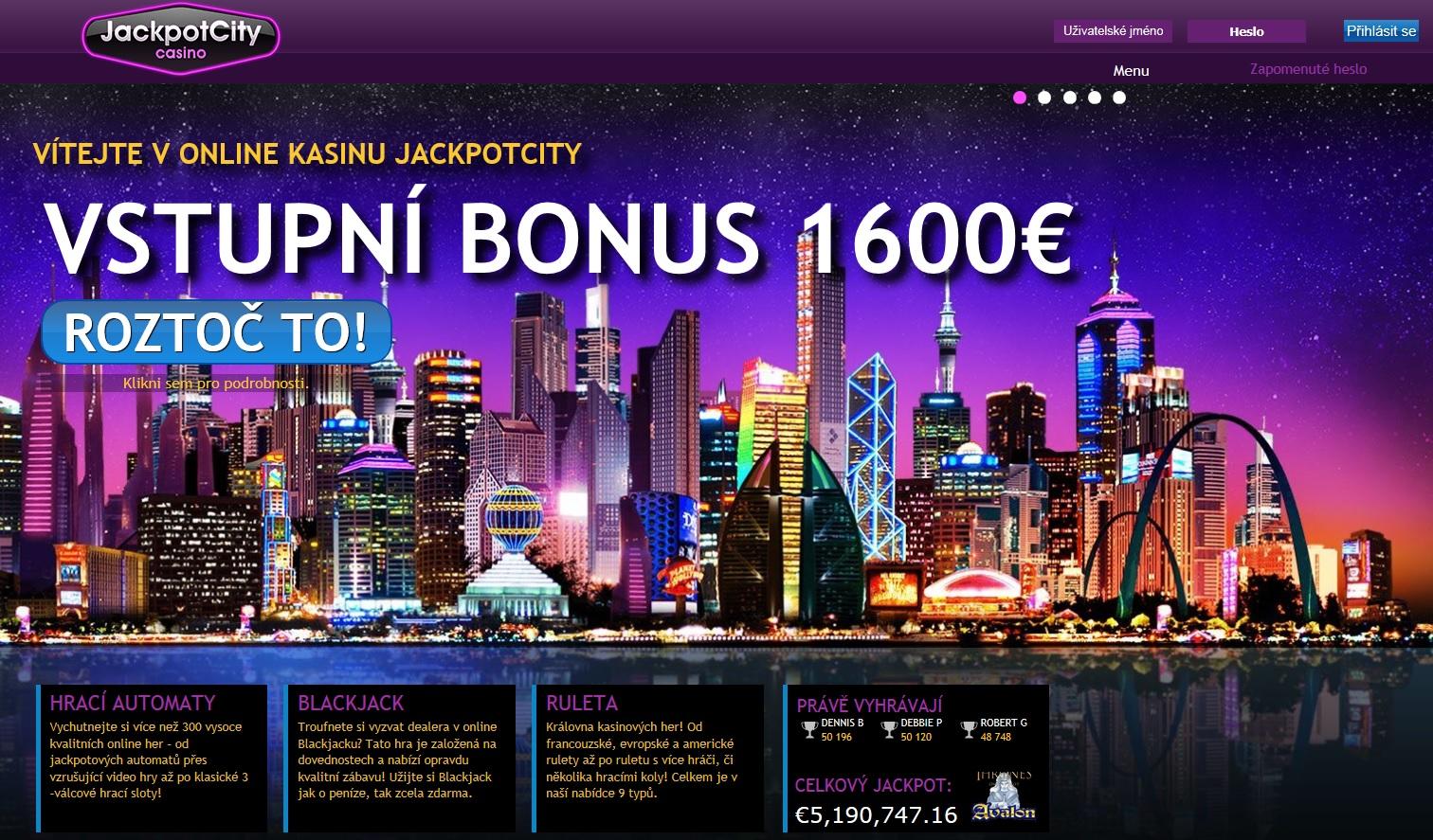 jackpot city online casino