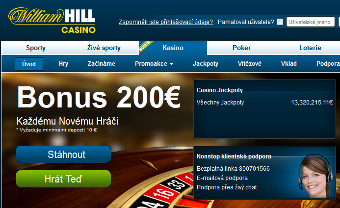 william hill casino club sign up