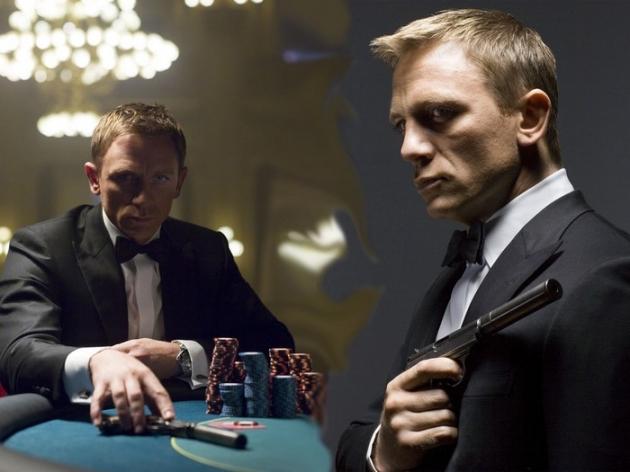 Roztočte to v casinu jako James Bond