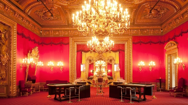 Luxusní casino v paláci v Baden–Baden