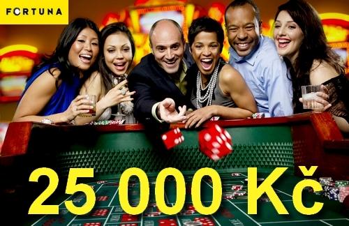 Uvítacích 25 000 Kč v novém casinu Fortuna Vegas!
