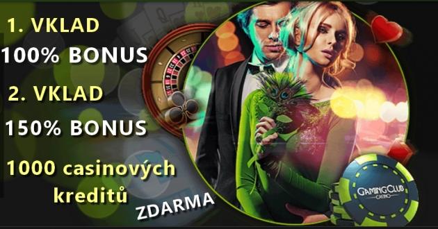 Exkluzivní odměny v casinu GamingClub!