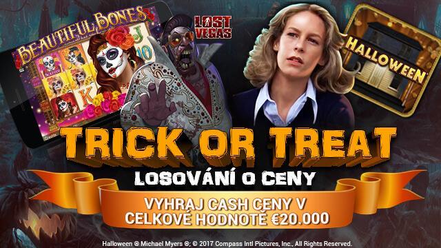 Halloweenské losování o 20 000€ v casinu EatSleepBet!