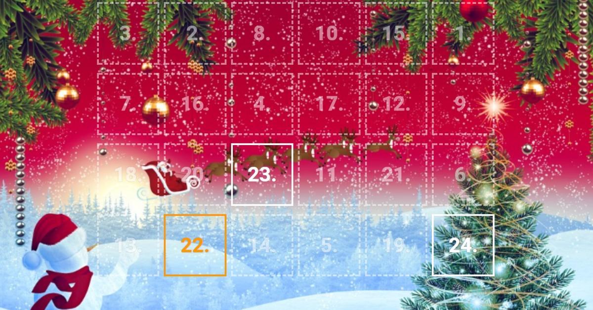 Adventní kalendář od Tipsport Vegas!