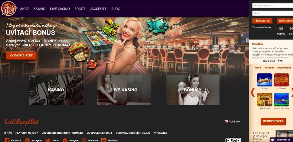 Online casino s bonusem bez vkladu