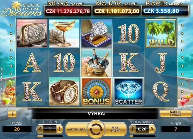 Automat Mega Fortune Dreams má ohromný jackpot!