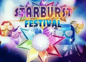 Užívejte si bonusů se Starburst Festivalem!